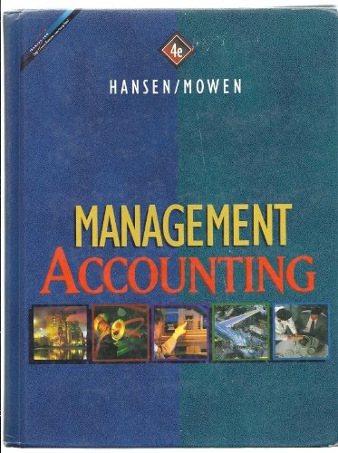 9780538856300: Management Accounting