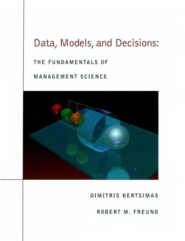 9780538859066: Data, Models and Decisions: Fundamentals of Management Science