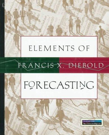 9780538862448: Elements of Forecasting
