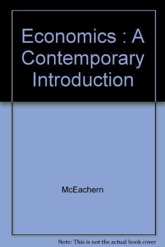 9780538864008: Economics : A Contemporary Introduction