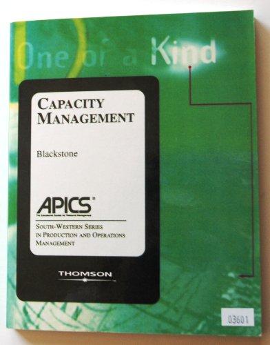 Capacity Management: Blackstone Jr., john