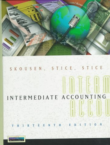 9780538867245: Intermediate Accounting