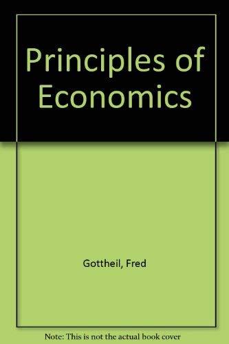 9780538868181: Principles of Economics