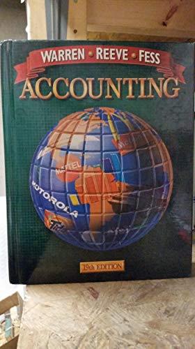 Accounting (Accounting / Carl S. Warren): Warren, Carl S.; Reeve, James M.; Fess, Philip E.