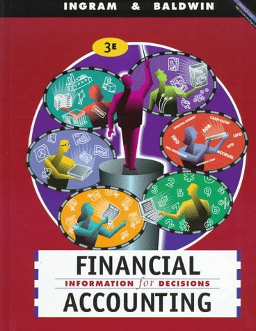 9780538870627: Financial Accounting: Information for Decisions