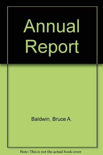 9780538870634: Annual Report: Project and Readings