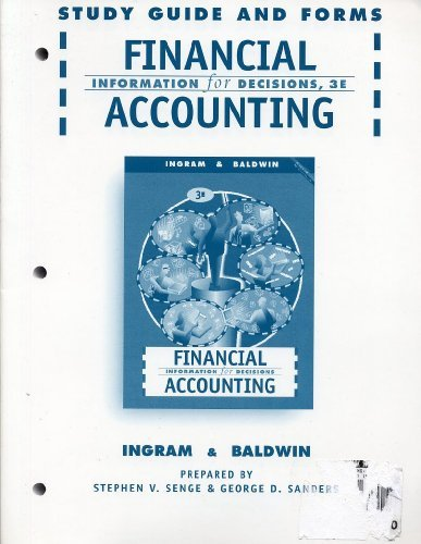 9780538870641: Financial Accounting: Information for Decisions