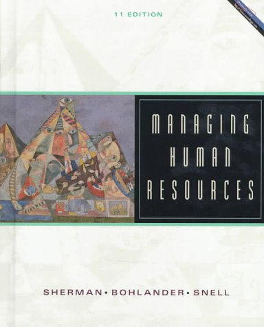9780538870757: Managing Human Resources (Miscellaneous/Catalogs)