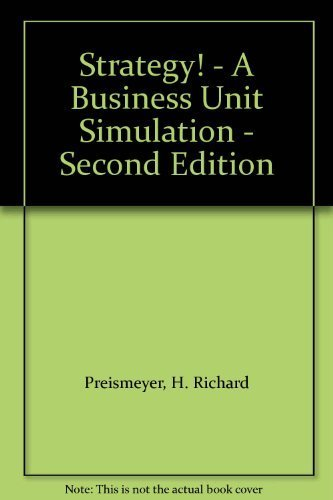 9780538872935: Strategy! - A Business Unit Simulation - Second Edition [Paperback] by