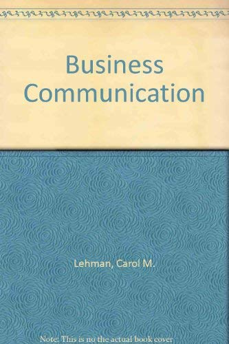 9780538875226: Study Guide for Himstreet and Baty's Business Communication