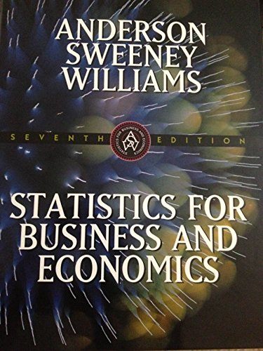 9780538875936: Statistics for Business and Economics