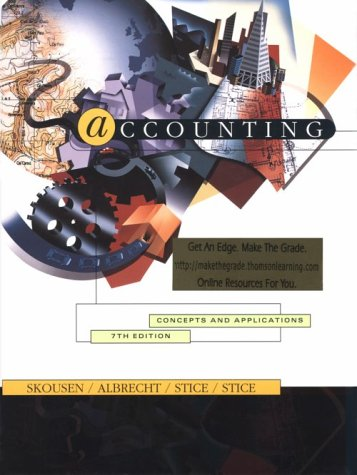 9780538876247: Accounting: Concepts and Applications