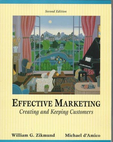 Effective Marketing: William G. Zikmund,
