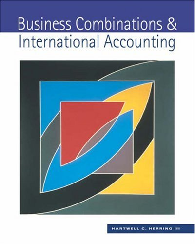 Business Combinations and International Accounting: Hartwell Herring