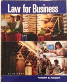 9780538880954: Law for Business