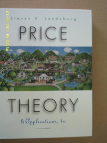 9780538882064: Price Theory and Applications