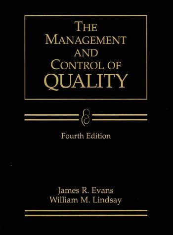 9780538882422: Management and Control of Quality