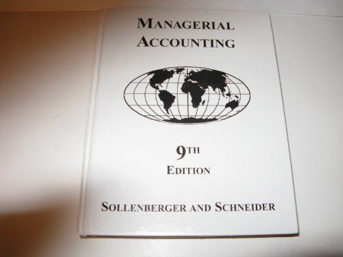 9780538884587: Managerial Accounting