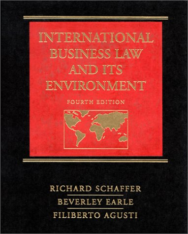 9780538884839: International Business Law and Its Environment