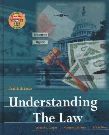9780538885492: Understanding The Law