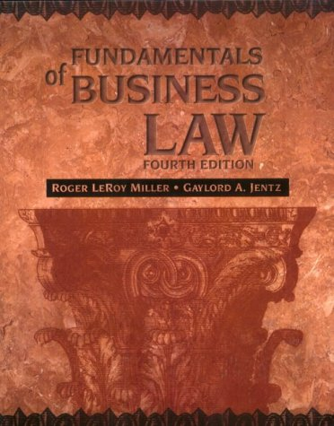 9780538886574: Fundamentals of Business Law