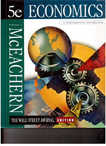9780538888462: Economics: A Contemporary Introduction, The Wall Street Journal Edition