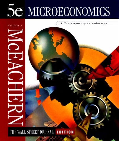 9780538888486: Microeconomics: A Contemporary Introduction, The Wall Street Journal Edition