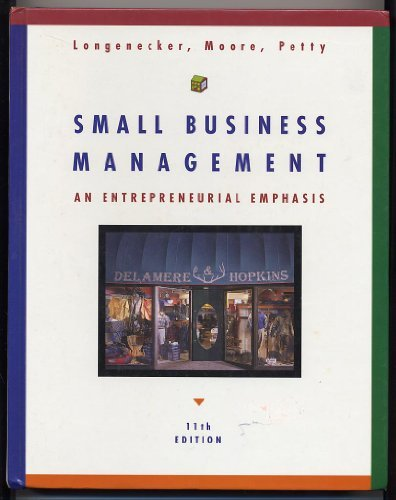 9780538890151: Small Business Management: An Entrepreneurial Emphasis