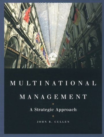 9780538890342: Multinational Management: A Strategic Approach