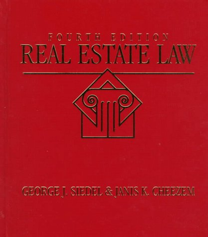 9780538891196: Real Estate Law
