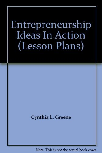 9780538967358: Entrepreneurship Ideas In Action (Lesson Plans)