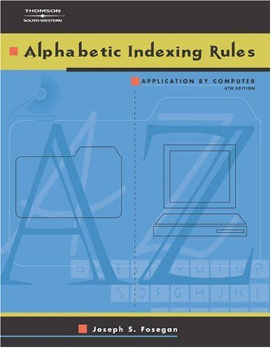 9780538970808: Alphabetic Indexing Rules: Application by Computer