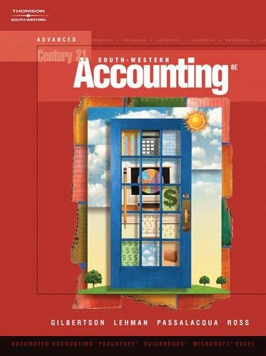 9780538972291: Century 21 Accounting: Advanced (with CD-ROM)