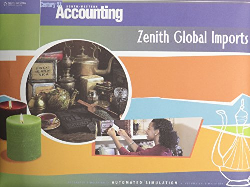 Zenith Global Imports Automated Simulation for Century 21 Accounting Multicolumn Journal (BlueText)...