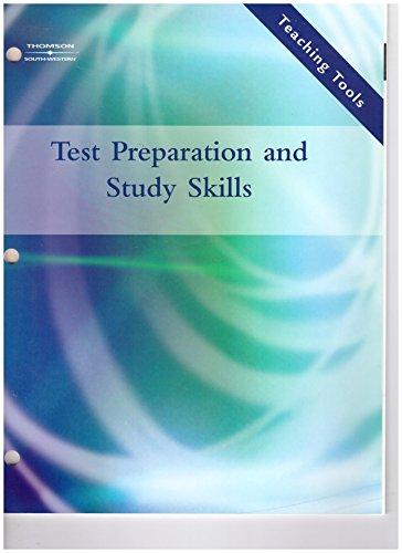 9780538973816: Test Prep and Study Skills