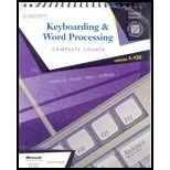 9780538975223: Keyboarding and Word Processing, Lessons 1-120-Textbook ONLY