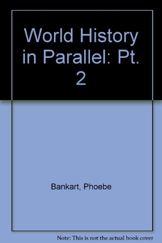 9780540000012: World History in Parallel: Pt. 2