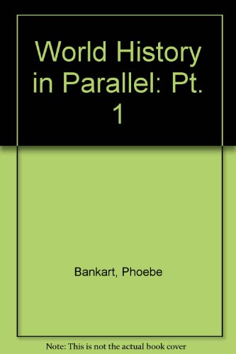 9780540003365: World History in Parallel: Pt. 1
