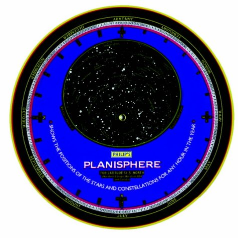 9780540012398: Philip's Planisphere: South America, Southern Africa, Australia, New Zealand