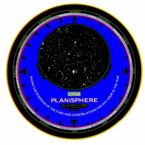 9780540063192: Philip's Planisphere: Hawaii, Mexico, India, Hong Kong, Taiwan