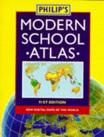 9780540063482: Philip's Modern School Atlas