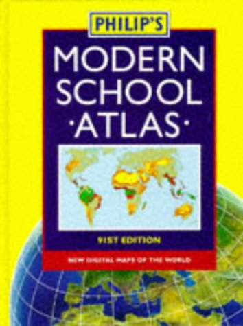 9780540063499: Philip's Modern School Atlas