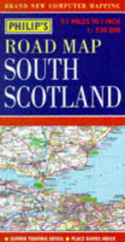 9780540063635: Philip's Regional Road Maps Britain: South Scotland (Philip's Regional Road Maps of Britain)