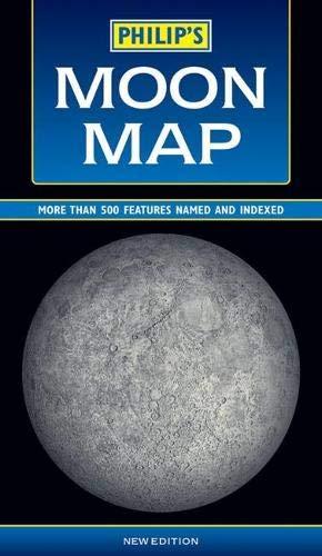 9780540063789: Philip's Moon Map