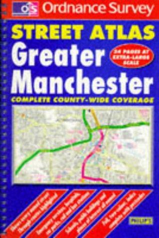 Ordnance Survey Greater Manchester Street Atlas (OS: Ordnance Survey