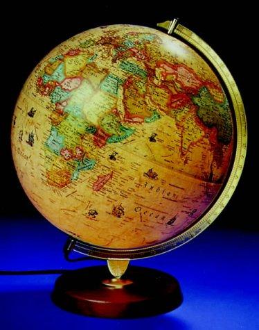 9780540074891: Philip's Voyager Globe: Antique style, 30cm, illuminated