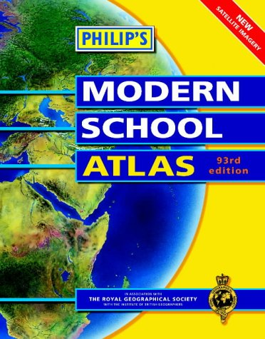 9780540077830: Philips Modern School Atlas 94th Edition