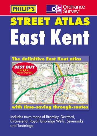 9780540079780: Philip's Street Atlas: East Kent