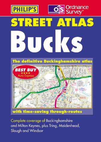 9780540080168: Buckinghamshire Street Atlas
