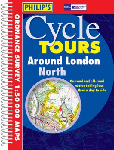 9780540081929: Philip's Cycle Tours Around London North